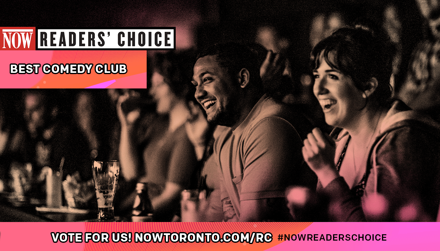 Vote for Second City as NOW Magazine's 'Best Comedy Club'