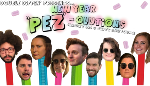 """Double Dippin' Presents… New Year """"Pez""""-olutions"""