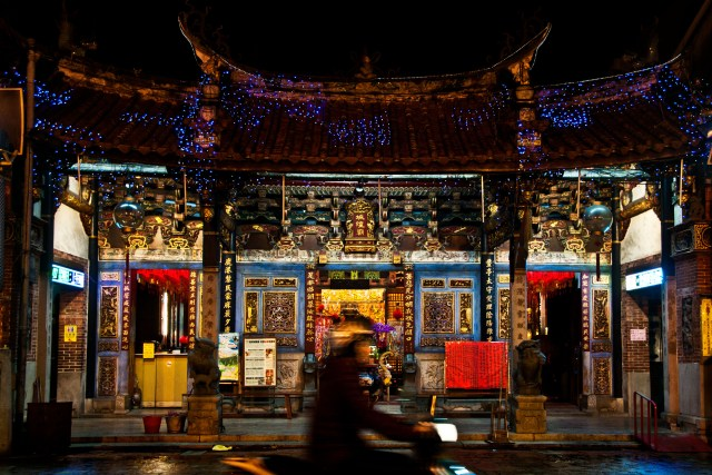 City god temple, Lukang - suggested itinerary for Taiwan