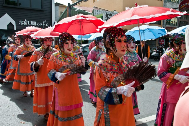 Dance of the twelve grannies, Tainan - Taiwan travel plan
