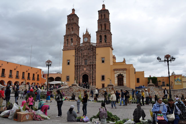 Palm Sunday celebrations in Dolores Hidalgo, Mexico