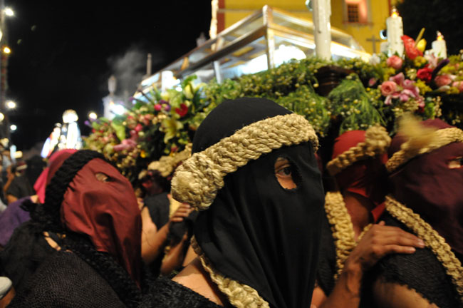 Viernes Santo (Good Friday) procession in Guanajuato, Mexico