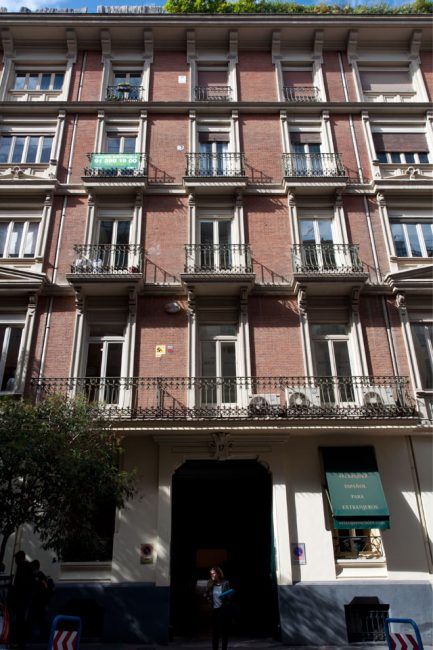 AIL Madrid's location in Calle de Núñez de Balboa