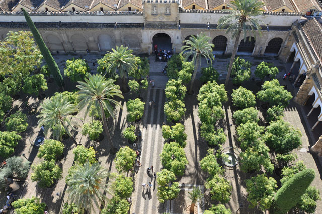 View from bell tower, Mezquita, Córdoba