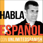Unlimited Spanish podcast with transcript