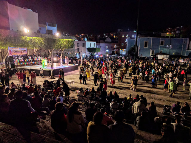 National Danzón Showcase, Plaza Alhóndiga, Guanajuato