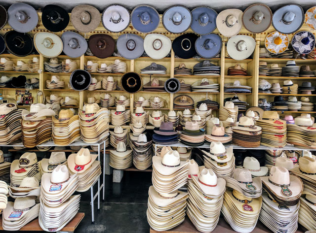 Sombreros, Jerez