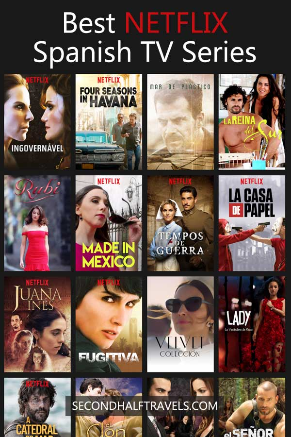 Can i watch spanish netflix in uk