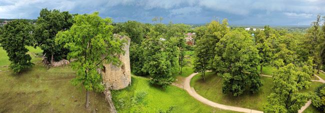 Castle, Cēsis, Latvia