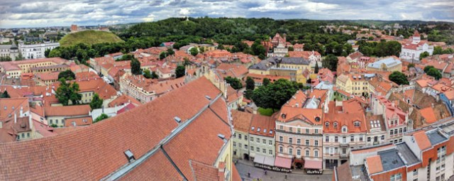 Vilnius Old Town - visiting the Baltics