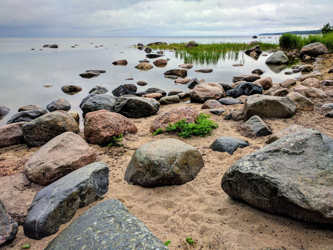 Typical coastline, Lahemaa National Park