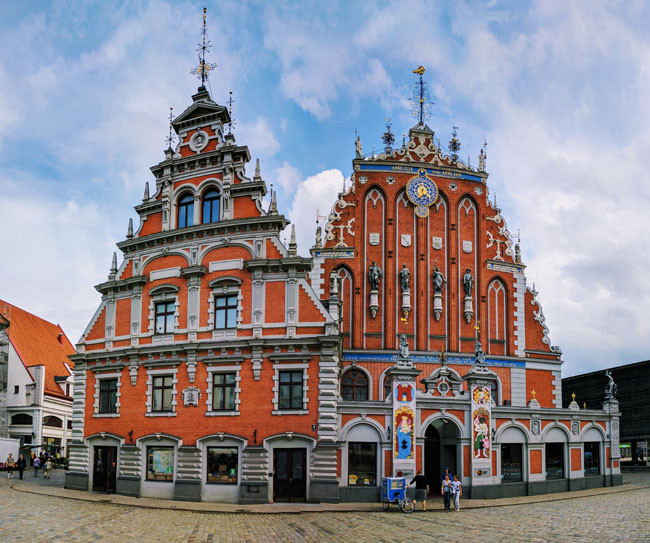 House of the Blackheads, symbol of Riga