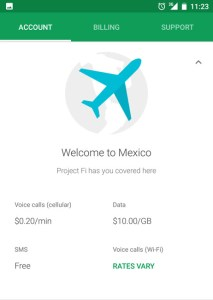 Google Fi in Yucatan, Mexico