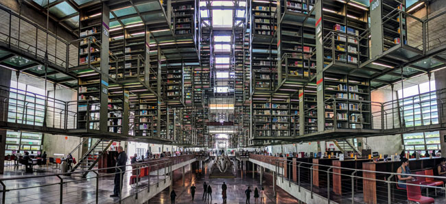 Biblioteca Vasconcelos, Mexico City