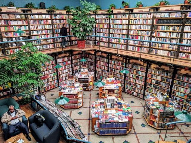 El Péndulo bookstore, Polanco, Mexico City