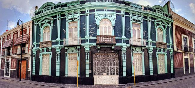 Colonial houses, Puebla