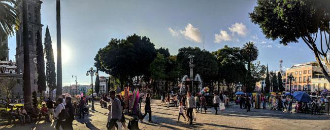 Zócalo (main plaza), Puebla