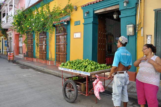 Gracias a Dios por todo, Cartagena