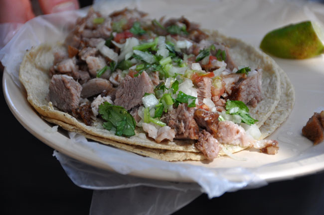 Tacos de carnitas, Mexico City street food tour