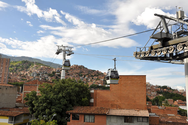 Metrocable, Medellín, Colombia
