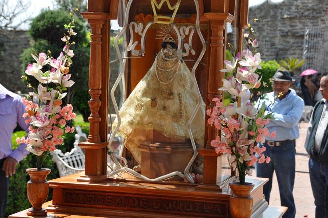 Virgen de Juquila, Cholula