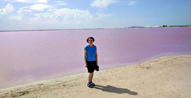 Las Coloradas - what to see in Yucatan Mexico