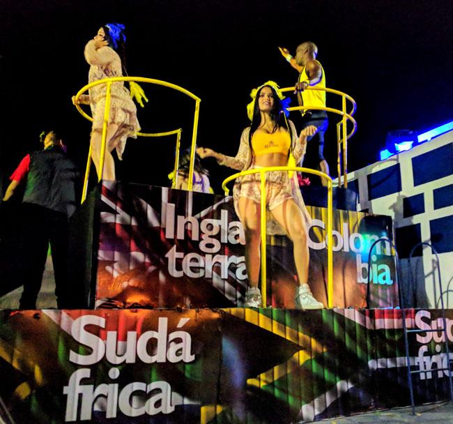 Carnaval in Progreso, Yucatan