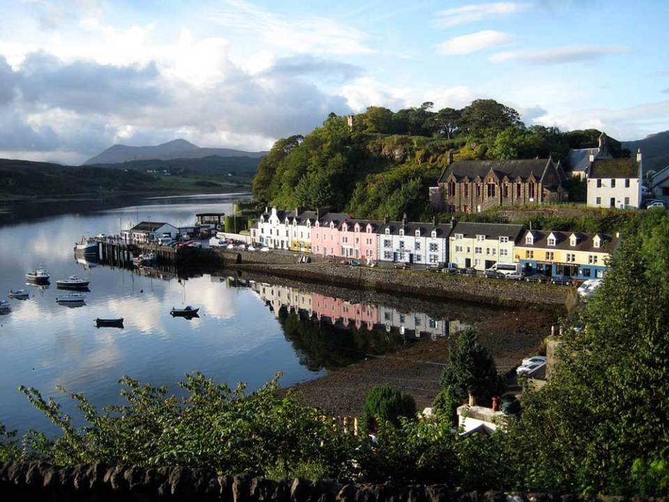 Isle of Skye in Scotland in November - best vacations for introverts