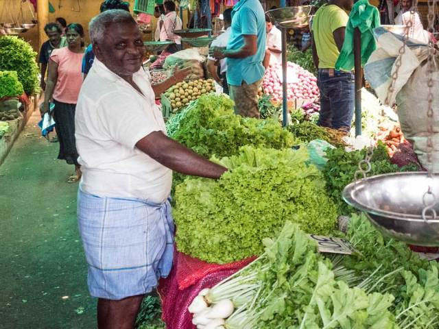 Kandy market, Sri Lanka - best vacations for introverts