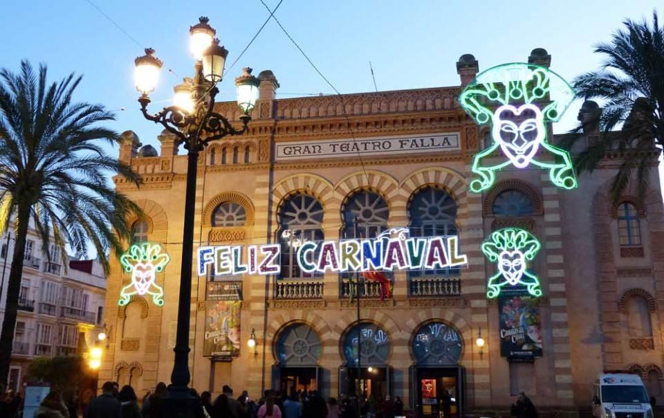 Gran Teatro Falla, Cadiz