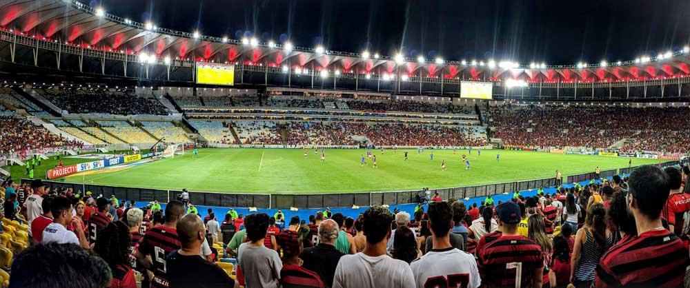 Flamengo game at Maracanã stadium