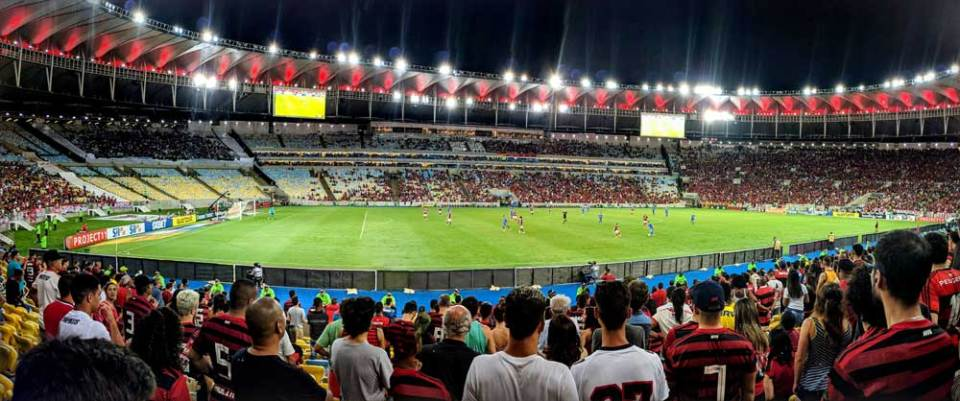Flamengo game at Maracanã stadium