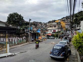 Educational favela tour of Vidigal
