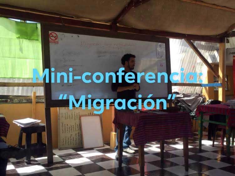 Mini-conferencia, SISAI - learn Spanish in Quetzaltenango