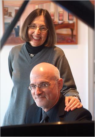 Robert Sirota and Victoria Sirota_by Michael Falco for New York Times