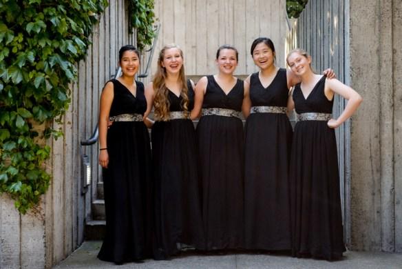 Members of the Northwest Girlchoir.