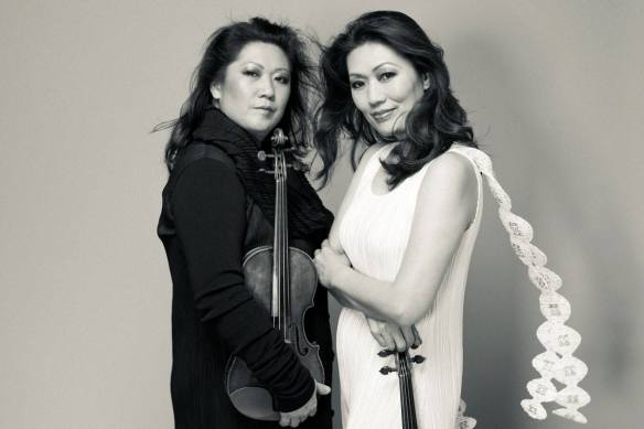 Angela and Jennifer Chun