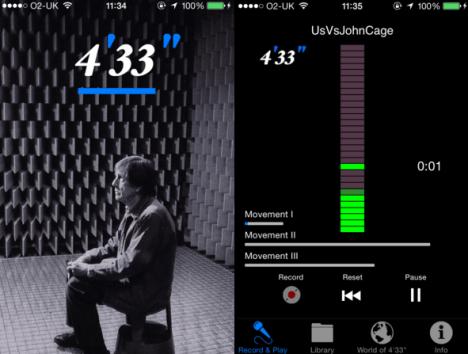 "John Cage 4'33"""