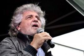 Beppe Grillo (foto Alpozzi/Inphoto)