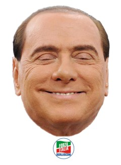 Scheda canina Silvio Berlusconi -FI