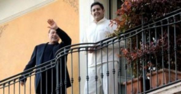 Giovanni Toti  e Silvio Berlusconi