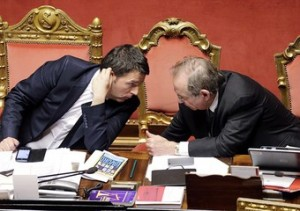 il-premier-matteo-renzi-e-il-ministro-dell-economia-pier-carlo-padoan