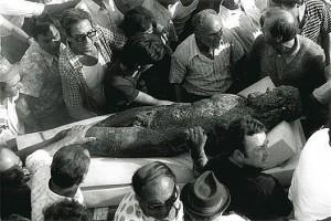 Il ritrovamento dei Bronzi a Riace (Rc) nel 1972