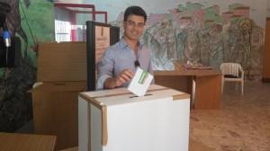 Callipo vota alle primarie del 5 ottobre