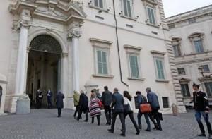 Trattativa Stato-Mafia I magistrati entrano al Quirinale