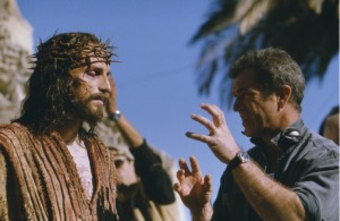 Mel Gibson sul set The Passion a Matera