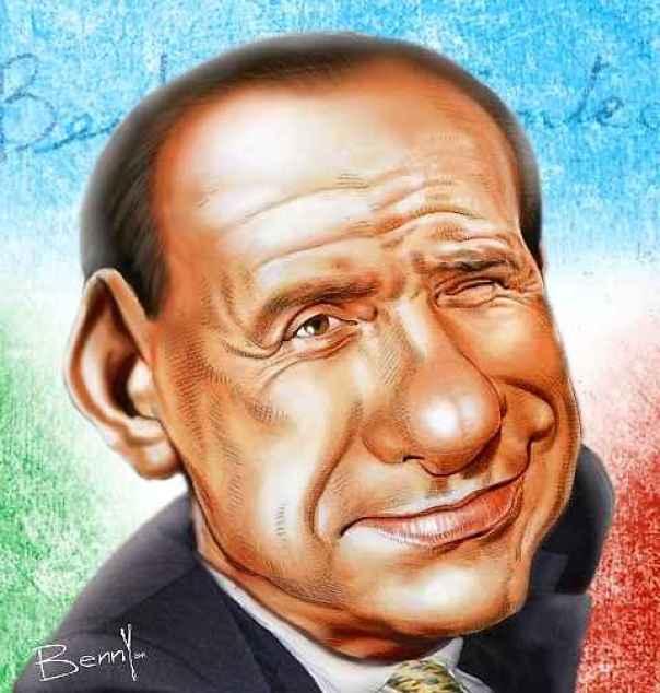 Silvio Berlusconi visto da Benny per Libero