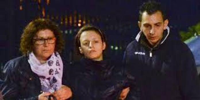 I familiari del piccolo Loris affranti dal dolore dopo la scoperta del delitto di Loris Stival