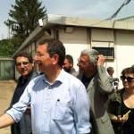 Ignazio Marino con Buzzi