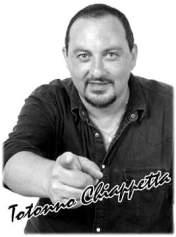 L'artista Totonno Chiappetta